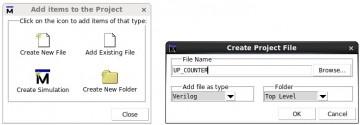 3 Create a new Verilog file