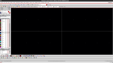 Figure 2 Virtuoso Layout Editor.