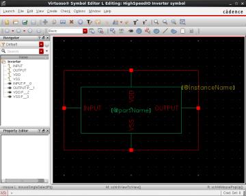 Figure 6 Virtuoso Symbol Editor.