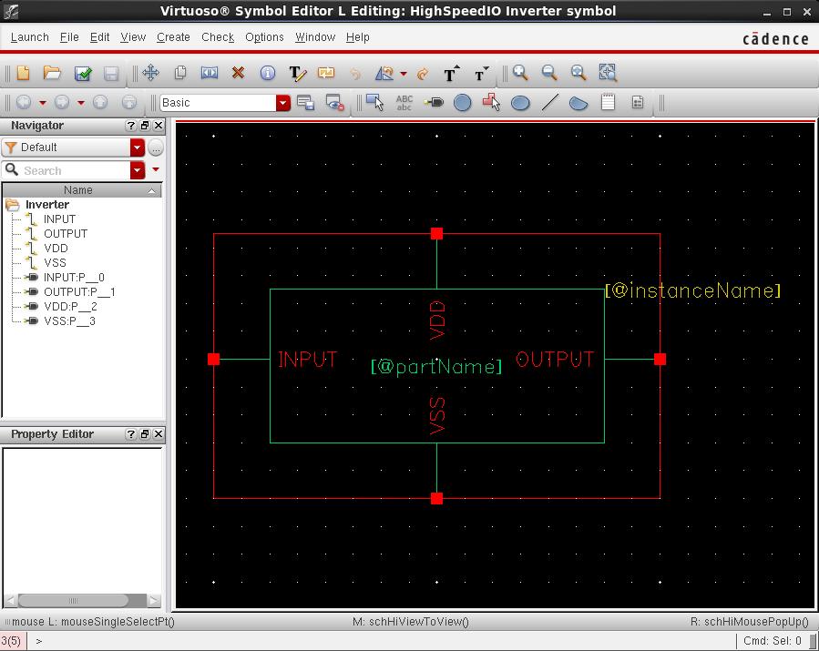 Cadence Virtuoso – Schematic & Simulations – Inverter (65nm