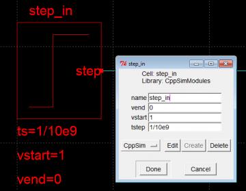 Impulse width setting